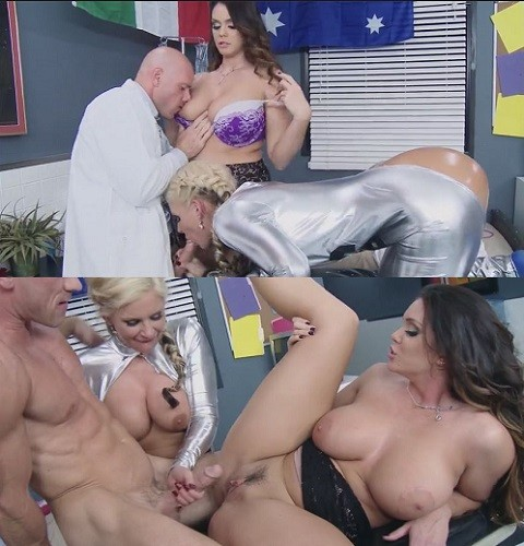 Alison Tyler and Johnny Sins are the medical